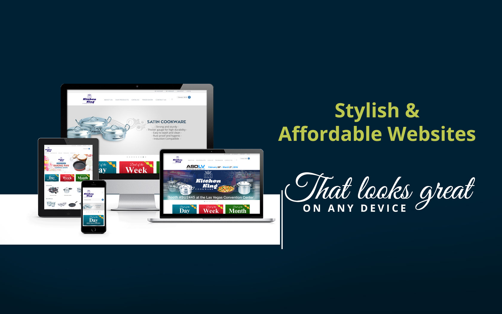 Custom Website & E-Commerce Solutions - MYL